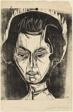 Head of Nina Hard (recto); Untitled (verso)