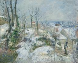 Rabbit Warren at Pontoise, Snow