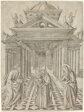 The Presentation in the Temple, plate four from the Life of the Virgin and Christ