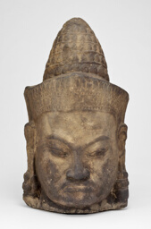 Head of a Male Deity (Deva)