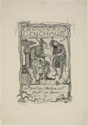 Ex libris L. Michaud