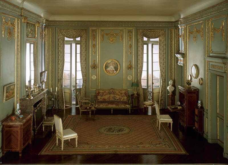 E 24 French Salon Of The Louis Xvi Period C 1780 The