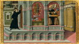 Saint Augustine's Vision of Saints Jerome and John the Baptist