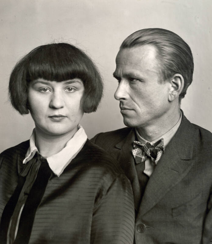 The Painter Otto Dix And His Wife, Martha