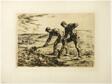 Two Men Digging