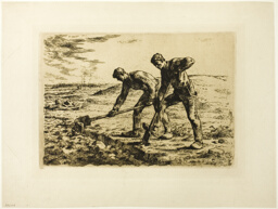 Two Men Digging