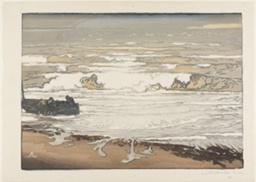 Breaking Waves, September Tide