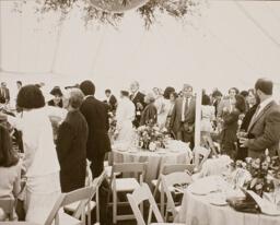 Maria Shriver and Arnold Schwarzenegger Wedding Reception