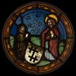 A Nun Kneeling before Saint John the Evangelist