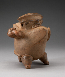 Vessel in the Form of a Hunchback Figure Carrying a Jar