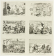 A Good Pennyworth from George Cruikshank's Steel Etchings to The Comic Almanacks: 1835-1853 (top left)