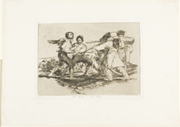 Rightly or wrongly, plate two from The Disasters of War