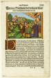 New Testament Scene, plate thirteen from Woodcuts from Books of the XVI Century
