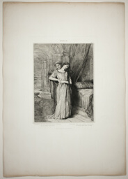 If I Do Die Before Thee, plate eight from Othello