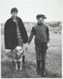 Two Shepherd Boys, Massif Central, France