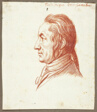 Portrait Head of a Man in Profile