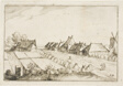 Fields and a Road, plate 24 after Pictures of Farms, Country Houses and Rustic Villages (Praediorum villarum et rusticarum casularum icones)