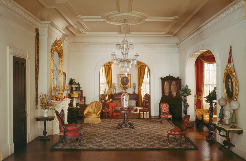 Rooms: A30: Georgia Double Parlor, C. 1850