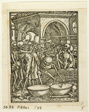 Dance of Death, plate 39 from Woodcuts from Books of the XVI Century