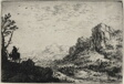 Landscape with a Man on a Mule