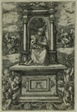'The Beautiful Virgin of Regensburg' with the Child on a Throne, Surrounded by Angels with Musical Instruments