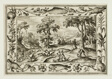 Hare Hunt, from Landscapes with Old and New Testament Scenes and Hunting Scenes
