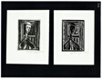 Paste Print, plate printed relief (Man of the Cloth), plate 14b from 101 Prints