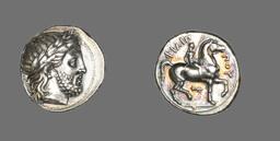 Tetradrachm (Coin) Depicting the God Zeus