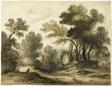 Dirt Road Landscape (recto); Landscape (verso)