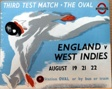 Third Test Match the Oval, English versus West Indies
