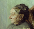 Madame Vuillard in Profile