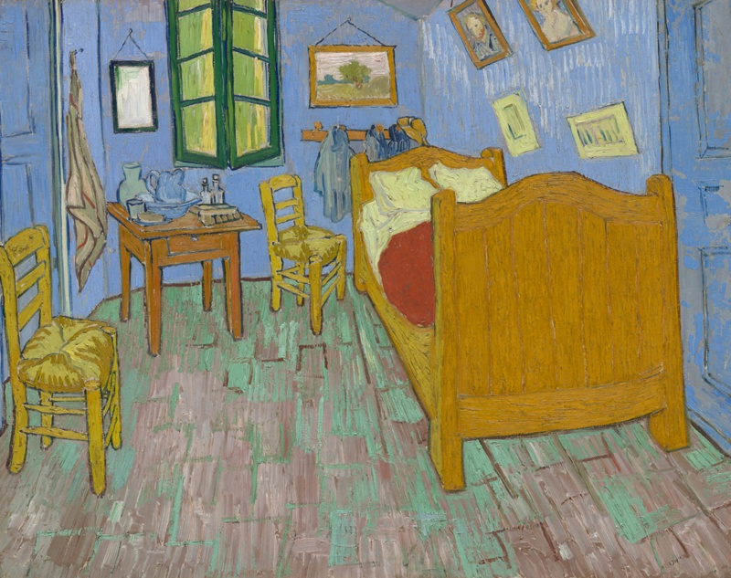 Modern Bedroom Furniture Chicago Painting Simple The Bedroom  The Art Institute Of Chicago Inspiration Design
