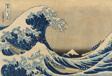 "Under the Wave off Kanagawa (Kanagawa oki nami ura), also known as the Great Wave, from the series ""Thirty-six Views of Mount Fuji (Fugaku sanjurokkei)"""