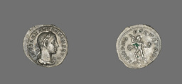 Denarius (Coin) Portraying Emperor Alexander