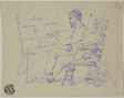 Artist Seated at Easel