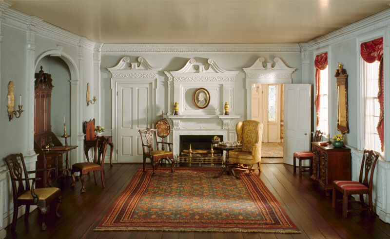 A11 Rhode Island Parlor C 1820 The Art Institute Of