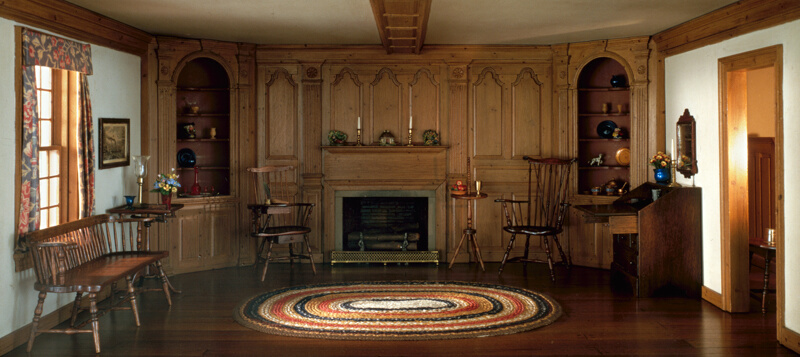 Rooms: A4: Connecticut Valley Tavern Parlor, C. 1750