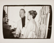 Halston and Unidentified Woman