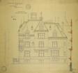 William Borden Residence, Chicago, Illinois, East Elevation