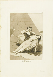 Tantalus, plate 9 from Los Caprichos