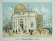 Chocolate-Menier Pavilion, World's Columbian Exposition, Chicago, Illinois: Perspective View