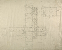 """Windway"" W. J. Kohler Farm, Kohler, Wisconsin, First Floor Plan"