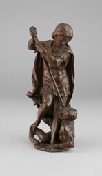 Archangel Michael Overcoming the Devil