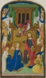 The Coronation of the Virgin, from a Book of Hours