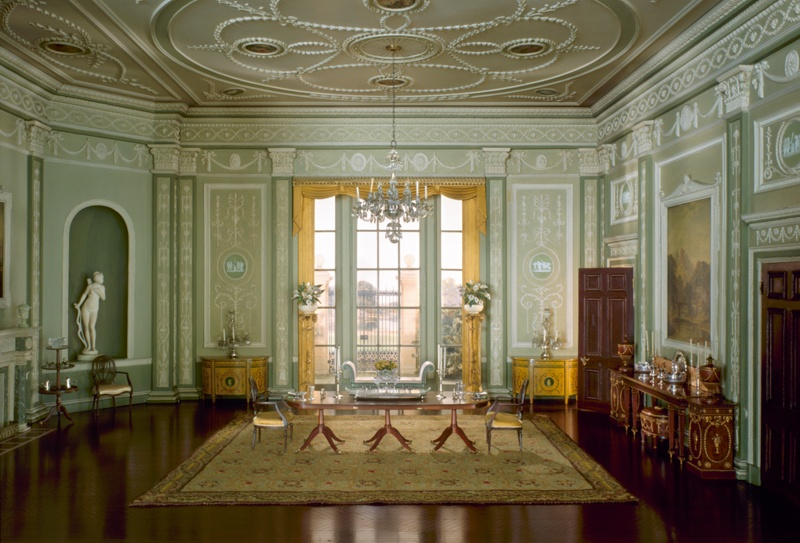 E 10: English Dining Room Of The Georgian Period, 1770 90