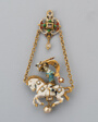 Pendant Shaped as a Horseman