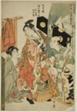 Omando: Ochie, Onokichi of the Matsuya, from the series Female Geisha Section of the Yoshiwara Niwaka Festival (Seiro niwaka onna geisha no bu) (Omando, Matsuya uchi Ochie, Onokichi)