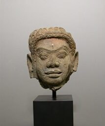 Head of a Male Deity (Deva)