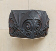 Benjamin Lindauer House, 3312 South Wabash, Chicago, Illinois: Corner Piece from a Chimney Stringcourse