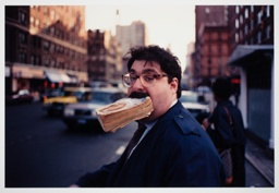 Book in Mouth, New York City